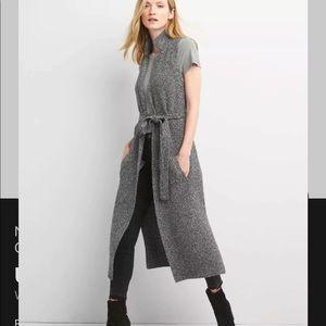 GAP Marled Long Sweater Vest